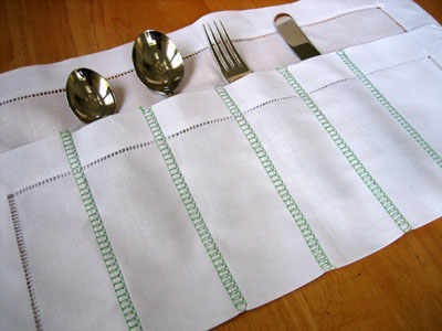 Napkin Utensil Roll